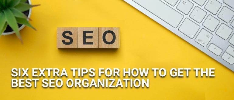 best seo organization